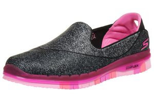 Skechers Go Flex Athletic Kinder Slip On Girls Mädchen Ballerina