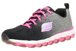 Skechers Skech Air Glitterbeam Sneakers Kinderschuhe Pink schwarz