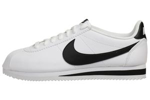 Nike Classic Cortez Leather Damen Sneaker Lifestyle Schuhe 807471 101