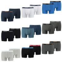 10 er Pack Head Herren Boxer Boxershorts Basic Pant Unterwäsche