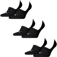 6 Paar Puma Socken Footie Sportsocken Invisible Gr. 35 - 46 Unisex
