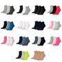 15 Paar Puma Unisex Quarter Socken Sneaker Gr. 35 - 49  für Damen Herren Füßlinge 001