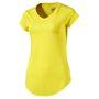 PUMA Damen Heather Cat Tee T-Shirt Trainingsshirt Laufshirt 516410 05 Lemon Tonic 001