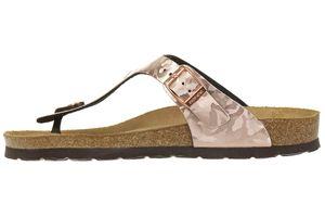 Rohde Alba Damen Zehentrenner Schuhe 5604 39 Kupfer