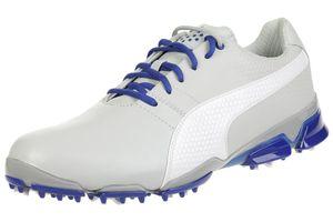 Puma Titantour Ignite Herren Golfschuhe Golf Leder 188656 09 grey
