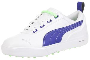 Puma Monolite Mini Women Kinder Golfschuhe Golf 187594 04 weiß