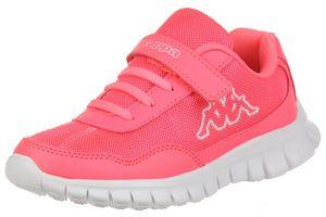 Kappa Mädchen Kinder Sneaker Follow K pink/weiss