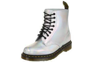 Dr. Martens PASCAL IM Boots silver lazer reflective metallic leather