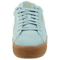 Puma Vikky Platform leather Sneaker Damen Schuhe 363287 11 grün