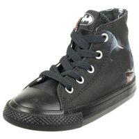 Converse CTAS HI Baby Sneaker unisex Babyschuh canvas Schwarz Batman 761305F