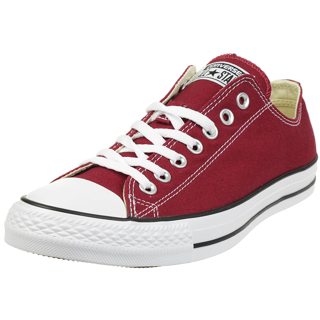 b809b547dde10 Converse All Star OX Dark Maroon Chucks Chuck All Star Sneaker M9691C canvas