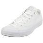 Converse All Star OX Chuck Schuhe Sneaker canvas White Monochrome 1U647 001