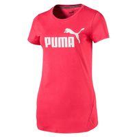PUMA Damen Essential ESS No.1 Logo W Tee T-Shirt Pink