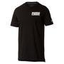 PUMA Style Athletic Tee Herren T-shirt Sportswear 850031 01 schwarz 001