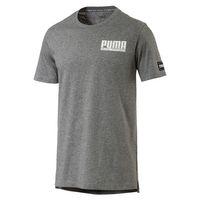 PUMA Style Athletic Tee Herren T-shirt Sportswear 850031 03 grau