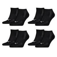 8 Paar Puma Sneaker Socken mit Frottee-Sohle Gr. 35 - 46 Unisex Cushioned Kurzsocken