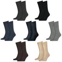 4 Paar TOMMY HILFIGER Classic Socken Gr. 39 - 49 Herren Business Socken