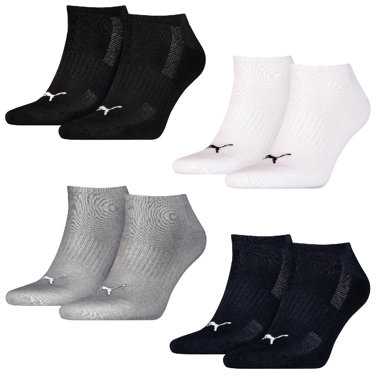 eaa3172bffc8 16 Paar Puma Sneaker Socken mit Frottee-Sohle Gr. 35 - 46 Unisex Cushioned