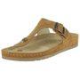 Rohde Riesa Damen Zehentrenner Schuhe 5810 70 braun 001