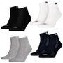 10 Paar Puma Quarter Socken mit Frottee-Sohle Gr. 35 - 46 Unisex Cushioned Kurzsocken 001