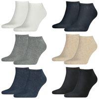 6 Paar TOMMY HILFIGER Sneaker Socken Gr. 39 - 49 Herren Business Socken