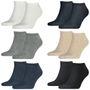 6 Paar TOMMY HILFIGER Sneaker Socken Gr. 39 - 49 Herren Business Socken 001