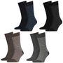8 Paar TOMMY HILFIGER SMALL STRIPE Socken Gr. 39 - 46 Herren Business Sneaker 001