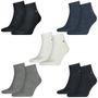 6 Paar TOMMY HILFIGER Quarter Socken Gr. 39 - 46 Herren Business Sneaker Socken 001