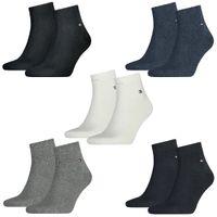 8 Paar TOMMY HILFIGER Quarter Socken Gr. 39 - 46 Herren Business Sneaker Socken
