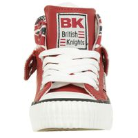 British Knights ROCO BK Kinder Sneaker BKC-3702C-02 England Flagge rot