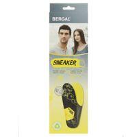 Bergal Einlegesohle Fußbett Sneaker Gr. 36-46 2er Pack