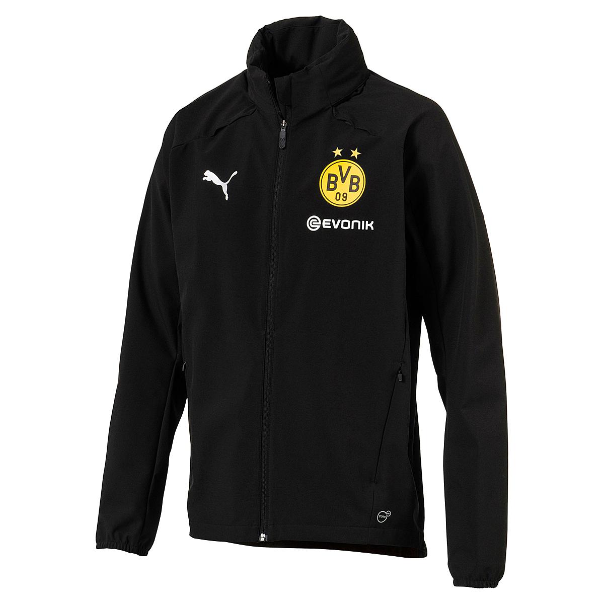 Puma BVB Borussia Dortmund Herren Regenjacke Rain Jacket