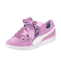 Puma Vikky Ribbon Junior Mädchen Damen Schuh Violett 367639 02