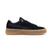 Puma Smash Platform Frill Sneaker Damen Schuhe 366928 01 schwarz