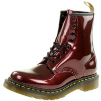Dr. Martens 1460 W Vegan Chrome Damenstiefel Metallic rot 23922601