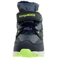 KangaROOS Unisex-Kinder Snibo EV RTX Hohe Sneaker gefüttert blau