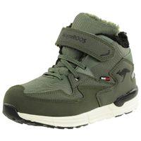 KangaROOS Unisex-Kinder Snibo EV RTX Hohe Sneaker gefüttert grün