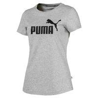 PUMA Damen Essential ESS Logo W Tee T-Shirt grau 851787