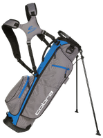 Cobra Megalite Stand Bag / Golfbag grau/blau Puma Golftasche