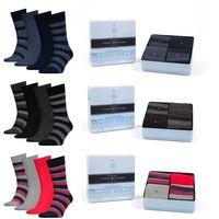 10 Paar Tommy Hilfiger Herren Socken Business Strümpfe in Geschenkbox