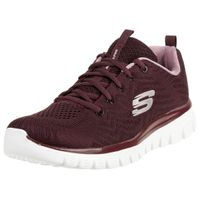Skechers Sport Womens GRACEFUL GET CONNECTED Sneakers Women Rot