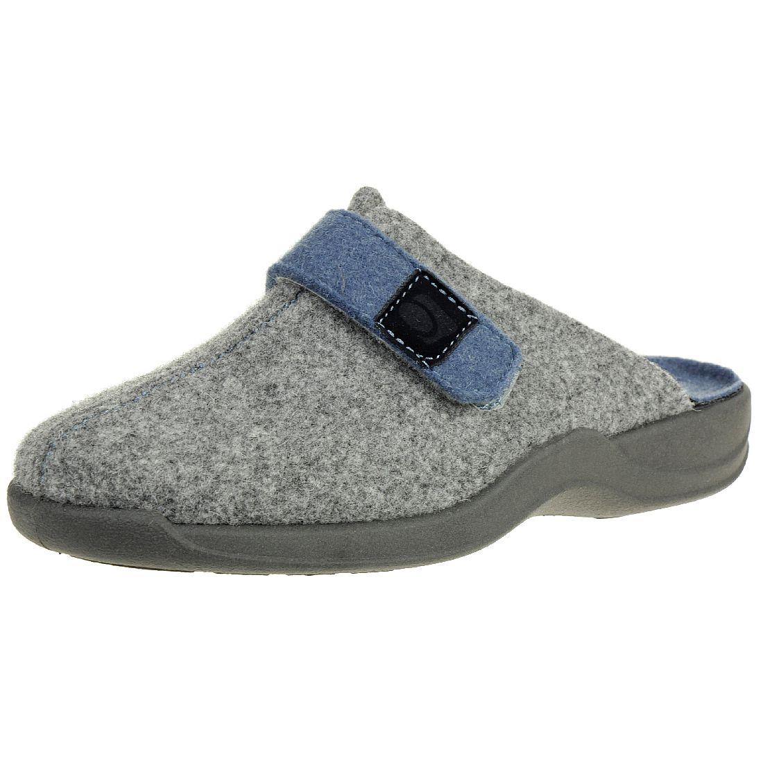 Farben und auffällig Kauf echt attraktiver Preis Rohde Vaasa Clogs Damen Hausschuhe Pantolette grau Filz 2315 ...