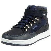 KangaROOS Unisex-Kinder Kerry High-Top Sneaker blau gefüttert Winterschuhe