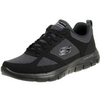 Skechers Flex Advantage 2.0 Herren Sneaker Air Cooled Memory Foam BBK