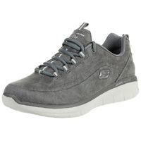 Skechers Synergy 2.0 COMFY UP Damen Fitnessschuhe Memory Foam CHAR