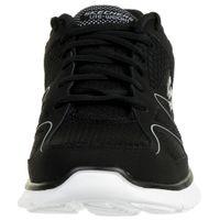 Skechers VERSE FLASH POINT Herren Sneaker Fitness Schuhe Memory Foam BKW