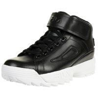 Fila D/2 Mid Wmn Damen Hoher Sneakers schwarz