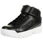 Fila D/2 Mid Wmn Damen Hoher Sneakers schwarz 001