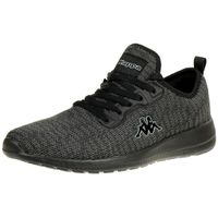 Kappa Gizeh OC Sneaker Unisex Turnschuhe Schuhe schwarz