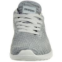 Kappa Gizeh OC Sneaker Unisex Turnschuhe Schuhe grau